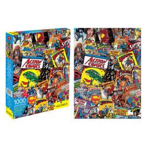 Superman Comic Book Covers 1000 Piece Puzzle