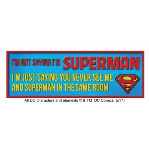 Superman Desk Sign