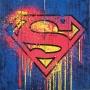 Superman Wood Sign.