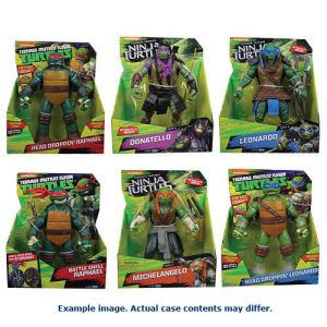 Teenage Mutant Ninja Turtles 11 Inch Deluxe Figure Case