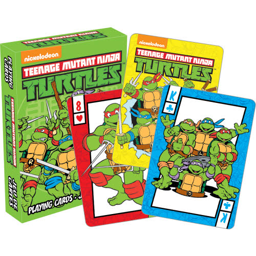 Teenage Mutant Ninja Turtles Playing Cards.