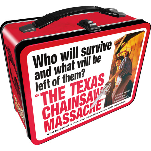 Texas Chainsaw Massacre Large Gen 2 Fun Box Lunchbox Tin Tote