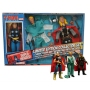 Marvel Comics Thor Cloth Retro Action Figure Limited Edition Box Set. Limited edition of 3000 sets. With his hammer, helmet, and long golden hair, Thor comes packaged inside a vintage-style window box. Thor also comes with two extra heads and outfits to c