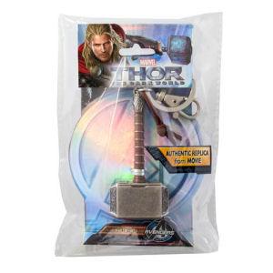 Thor The Dark World Hammer Pewter Key Chain