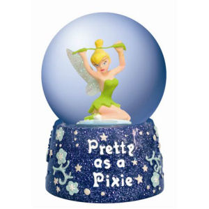 Westland Giftware Disney Life According to Tinkerbell Pretty Pixie Globe