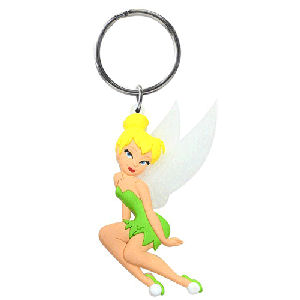 Tinker Bell Soft Touch Key Chain