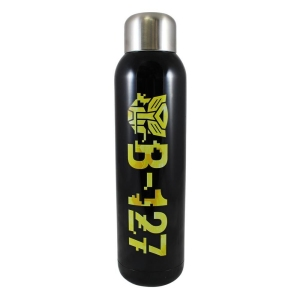 Transformers Bumble Bee B-127 Yellow & Black 22 Ounce Stainless Steel Water Bottle