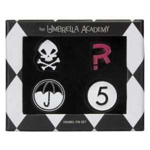Umbrella Academy Assorted Enamel Pin 4-Pack