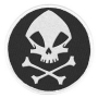The Umbrella Academy The Kraken Skull Logo Patch.