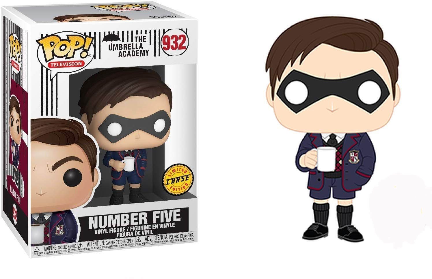 The Umbrella Academy Number Five Pop! Vinyl Figure