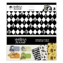 The Umbrella Academy Wrapping Paper. Set of three sheets of wrapping paper. Each wrapping paper sheet measures 24 inches by 36 inches.
