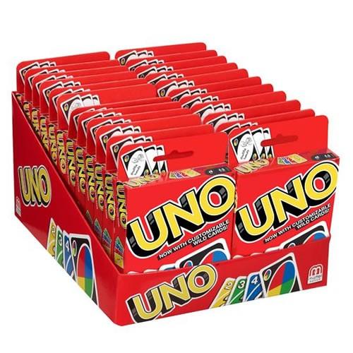 UNO Card Game Regular Version 24 Piece Display.