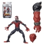 Marvel Legends Miles Morales 6 Inch Action Figure.  Measures 6 inches tall.