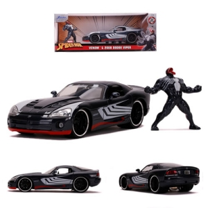 Marvel Comics Venom 2008 Dodge Viper SRT10 with Venom Figure