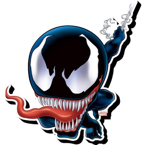 Venom Chibi Funky Chunky Magnet