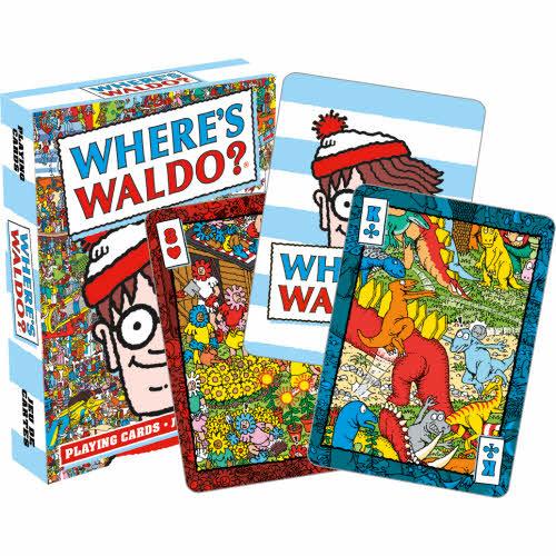 Waldo Playing Cards