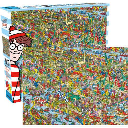 Wheres Waldo Dinosaurs 1000 Piece Puzzle.