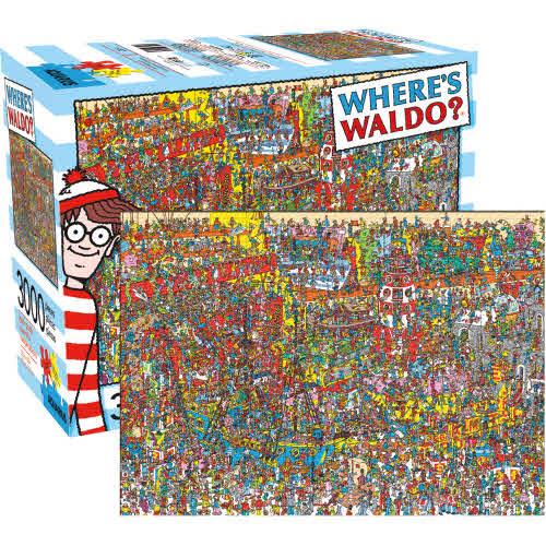 Wheres Waldo 3000 Piece Puzzle