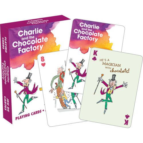 Charlie and the Chocolate Factory Playing Cards