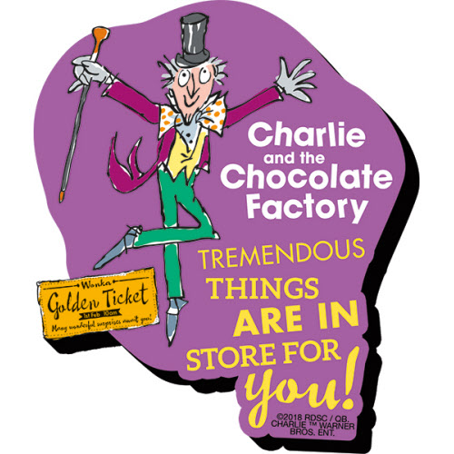 Charlie and the Chocolate Factory Funky Chunky Magnet