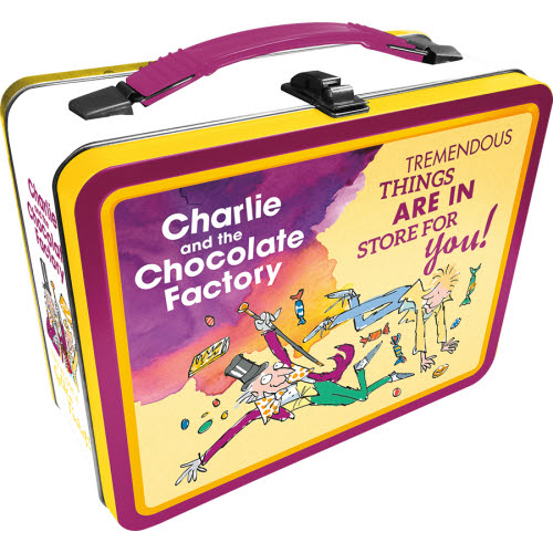 Charlie and the Chocolate Factory Gen 2 Fun Box Lunch Box Tin Tote.