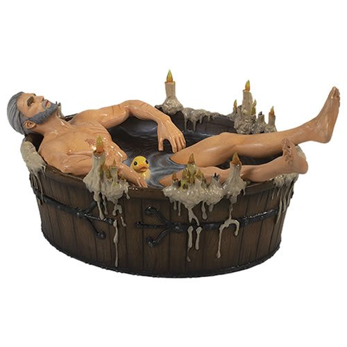 The Witcher 3 The Wild Hunt Geralt In The Bath Statuette