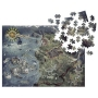 The Witcher 3 Wild Hunt Witcher World Map 1000 Piece Puzzle.