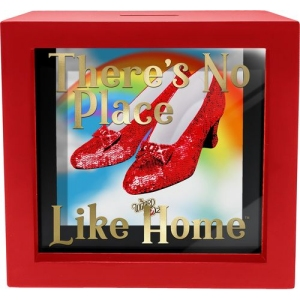 The Wizard of Oz Ruby Slippers Shadow Box Bank
