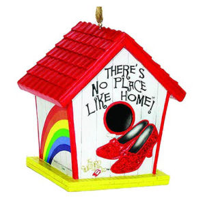 The Wizard of Oz Ruby Slippers Birdhouse