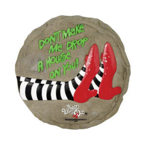 The Wizard of Oz Ruby Slippers Stepping Stone