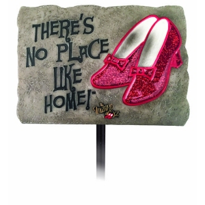 The Wizard of Oz No Place Like Home Garden Stake