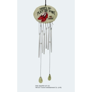 The Wizard of Oz Ruby Slippers Wind Chime