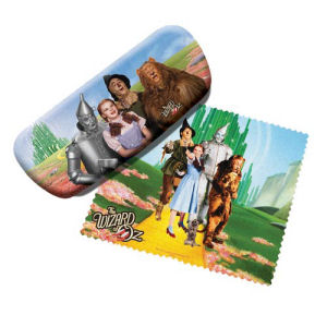 The Wizard of Oz Eyeglass Case with Cleaning Cloth.
