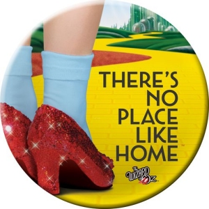 The Wizard of Oz No Place Like Home Melamine Plate