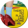 The Wizard of Oz No Place Like Home Melamine Plate.