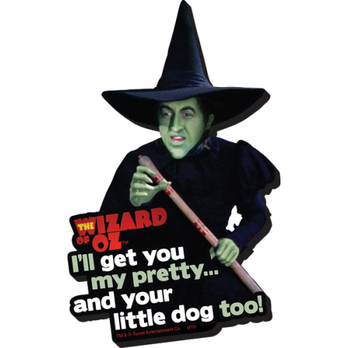 The Wizard of Oz Witch Funky Chunky Magnet.