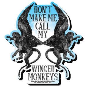 Wizard of Oz Flying Monkeys Funky Chunky Magnet