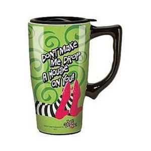 The Wizard of Oz Wicked Witch of the East Travel Mug with Handle
