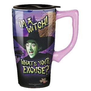 The Wizard of Oz Wicked Witch Travel Mug with Handle