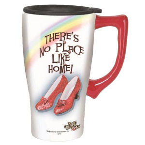 The Wizard of Oz Ruby Slippers Travel Mug