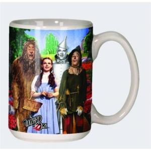 The Wizard Of Oz Cast 12 Ounce Ceramic Coffee Mug