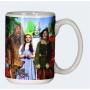 The Wizard Of Oz Cast 12 Ounce Ceramic Coffee Mug.