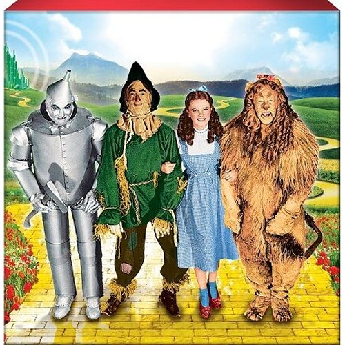 The Wizard Of Oz Cast Box Sign.