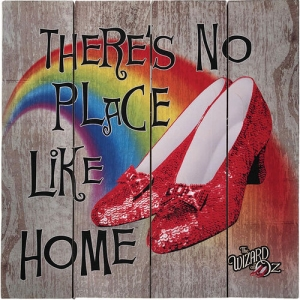 The Wizard Of Oz No Place Like Home Wood Sign