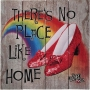 The Wizard Of Oz No Place Like Home Wood Sign.