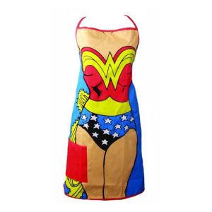Wonder Woman Cooks Apron with Pocket