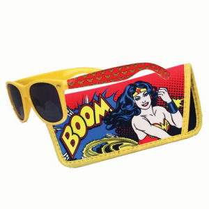 Wonder Woman Boom Sunglasses with Carry Case