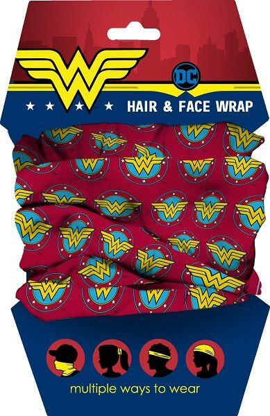 Wonder Woman Youth Hair and Face Wrap.
