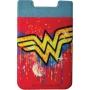 Wonder Woman Logo Phone Card Holder