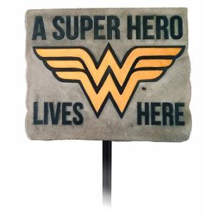 Wonder Woman Garden Stake